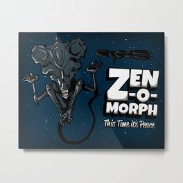 Zen-o-morph Metal Print