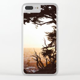 Golden View Clear iPhone Case