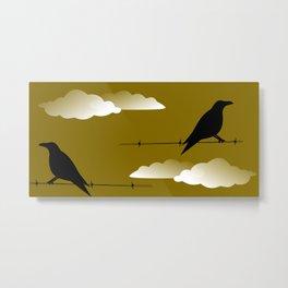 Quoth the Raven, Nervermore Metal Print