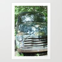 truck Art Prints featuring Truck  by Clint Harris