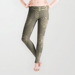 Heart Shaped Rib Cage Leggings