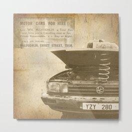 Cheap Car Hire! Metal Print