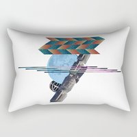 2001 Rectangular Pillows featuring 2001 a space odyssey by lina