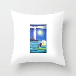 #21 – Salvezza per gli impavidi Throw Pillow