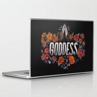 goddess Laptop & iPad Skins featuring Goddess by Jillian Adel