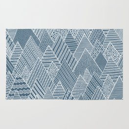 Mountain Pattern Rug