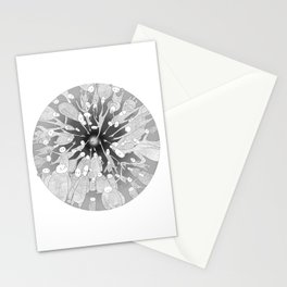 Attaining Happiness Stationery Cards