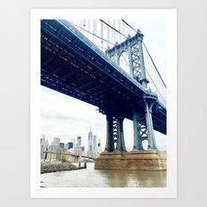Manhattan Bridge - New York City photography Art Print