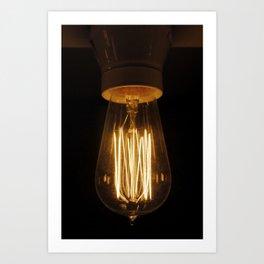 Swedish Lightbulb Art Print