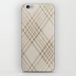 Rich Beige iPhone Skin