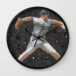 Rick Honeycutt in Space, Dodgers Wall Clock
