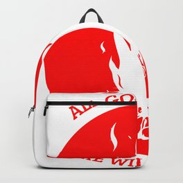 ALL GOOD THING ARE WILD &FREE Backpack