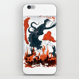 A Jersey Devil Haunting iPhone Skin