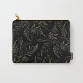 Fern leaves - Black Carry-All Pouch