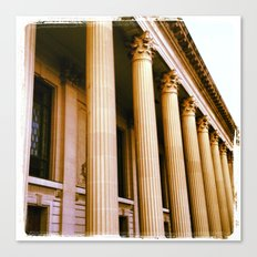 Lovely Columns (Yale, CT) Canvas Print