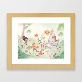 Forrest Garden Framed Art Print