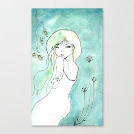 Dite moi! Canvas Print
