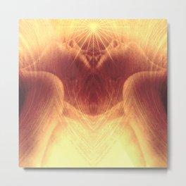 Meditation Metal Print