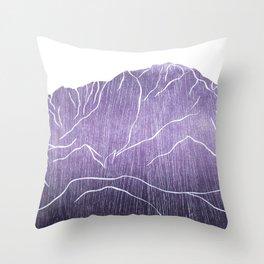 Colorado Mountain Ranges_Pikes Peak Throw Pillow