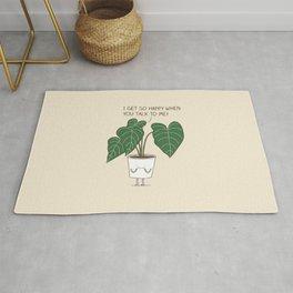 Plant talk Rug