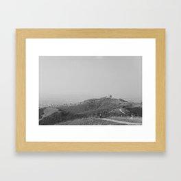 Trails in Whittier, CA Framed Art Print