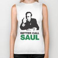 better call saul Biker Tanks featuring Better Call Saul by Harry Martin