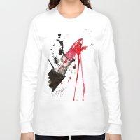 fleetwood mac Long Sleeve T-shirts featuring MAC by Sasha Spring Illustration