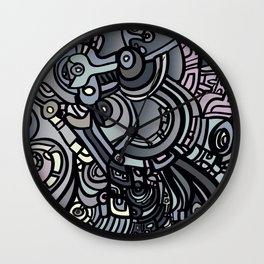 ROBOTS OF THE WORLD Wall Clock