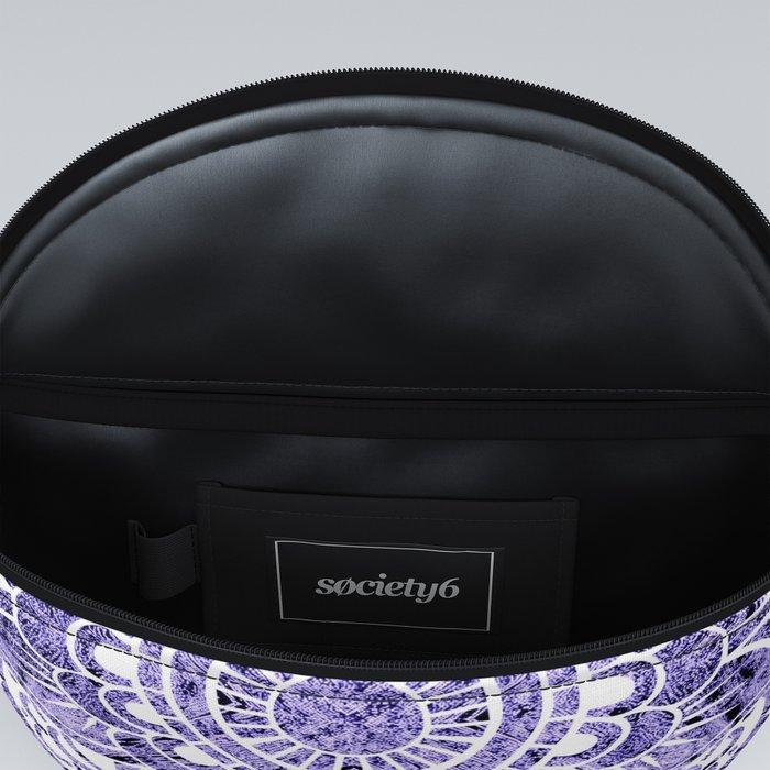 Mandala Lavender Colorburst Fanny Pack
