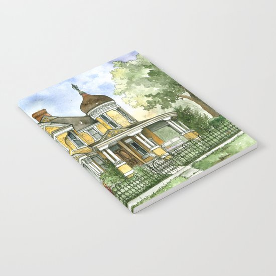 Victorian in The Avenues Notebook
