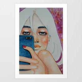 Instagram Me Art Print