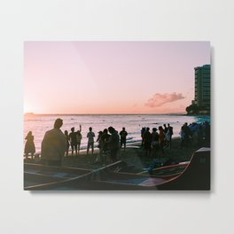 Prints for a Purpose: Watching, Together Metal Print