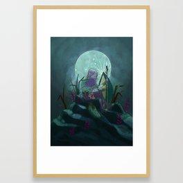 Spear Warrior Framed Art Print