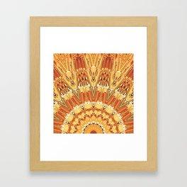 Golden Sun Framed Art Print