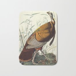 Great American Cock (Wild Turkey) Bath Mat