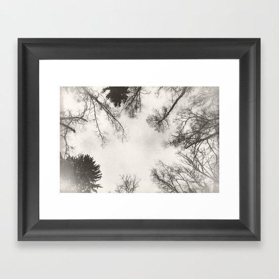 Under January Sky Framed Art Print