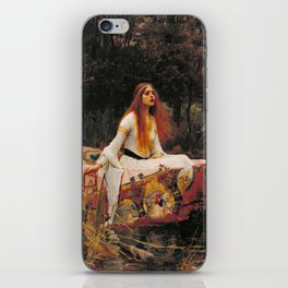 The Lady of Shallot - John William Waterhouse iPhone Skin