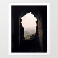 Ancient Window Art Print