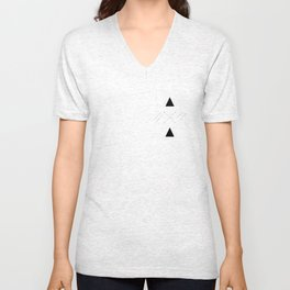 Arrows laced with Noise Unisex V-Neck
