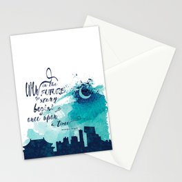 The Lunar Chronicles Quote Stationery Cards