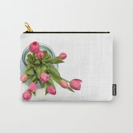 Grateful tulips Carry-All Pouch