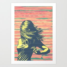 Lookback Art Print