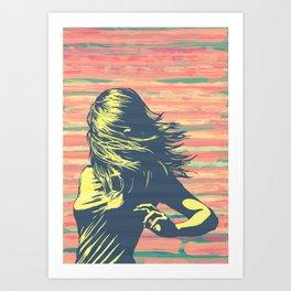 Lookback Art Print