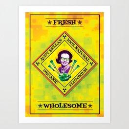 Organic Plutonium Art Print