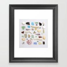 Ocean Study No. 2 Framed Art Print
