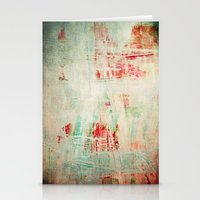 the strokes Stationery Cards featuring abstract strokes by Iris Lehnhardt