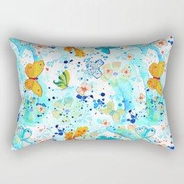 Summer Butterflies Rectangular Pillow