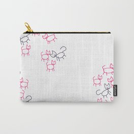 Not So Fancy Cats Carry-All Pouch