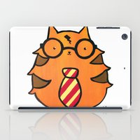 potter iPad Cases featuring Kitty Potter  by JessicaAndersonArt