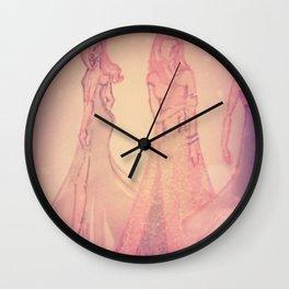 romantic brides Wall Clock